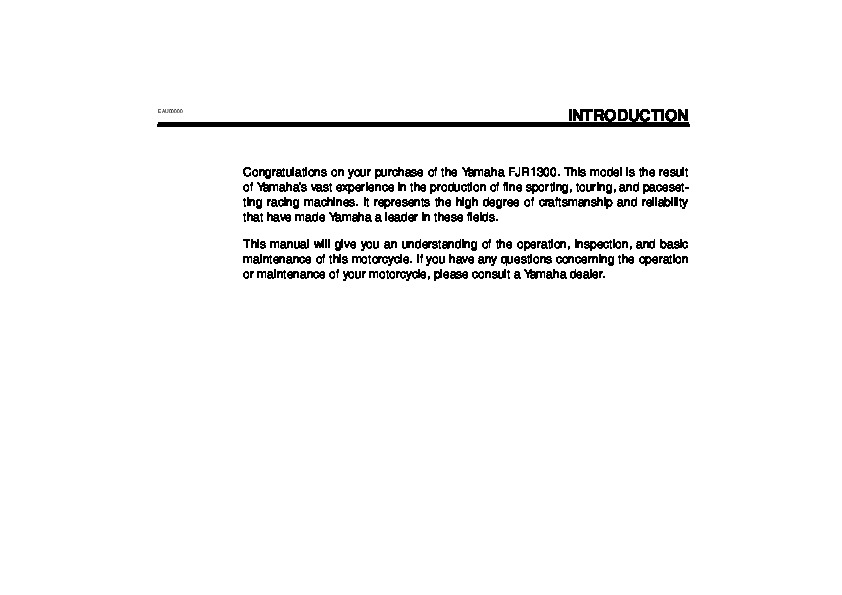 yamaha fjr1300 owners manual pdf download autos post. Black Bedroom Furniture Sets. Home Design Ideas